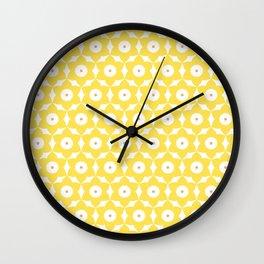 MCM Narcissus Wall Clock