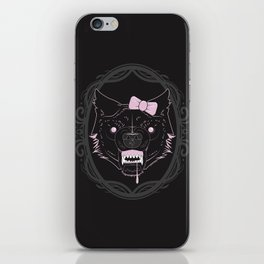 She-wolf iPhone Skin