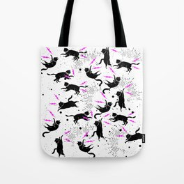 Kittens 'n Rock Tote Bag