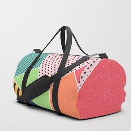 color segments 001 Duffle Bag