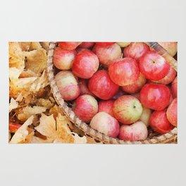 Fall apples Rug