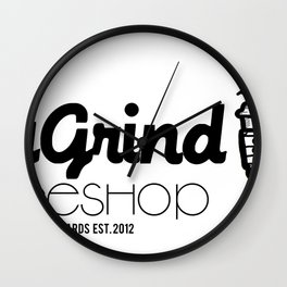 Daily Grind Coffe Shop Wall Clock