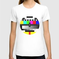 tv T-shirts featuring TV by Les Hameçons Cibles