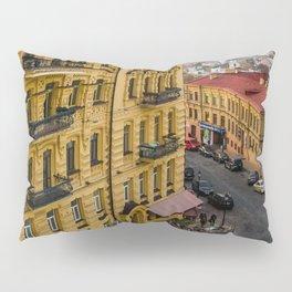 the Central street of Kiev Pillow Sham