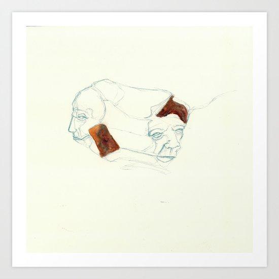 UnHuman#03 Art Print