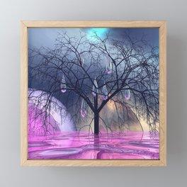 the crying tree Framed Mini Art Print