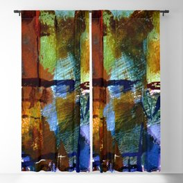 Paul Klee Windows and Palms Blackout Curtain