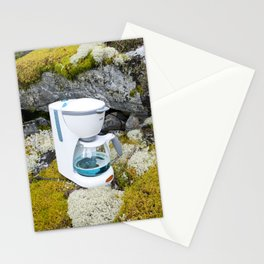 Crystal Clear Coffee Stationery Cards