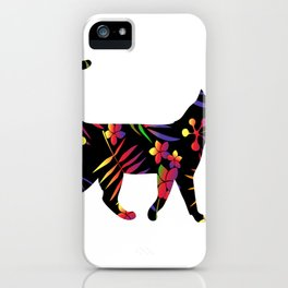 Forest Cat iPhone Case