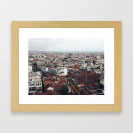 dense Framed Art Print