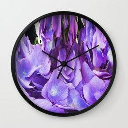 492 - Abstract Flower Design Wall Clock