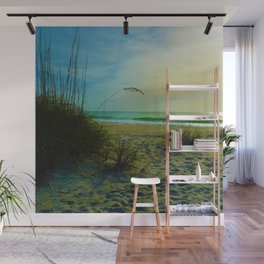 The Beach on Little Gasparilla Island , Florida USA Wall Mural