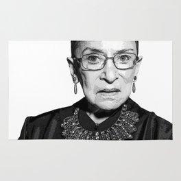 Ruth Bader Ginsburg Dissent Collar RBG Rug