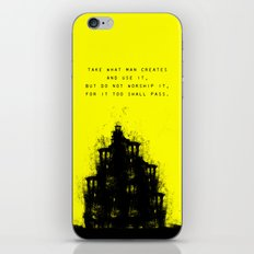 Do Not Worship. iPhone & iPod Skin