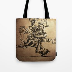 Steam powered Pirate Tote Bag
