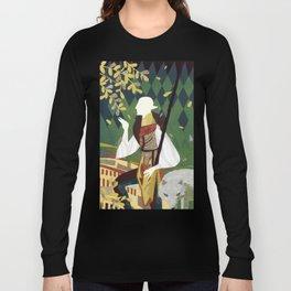 Dragon Age Solas Tarot Paper Art Long Sleeve T-shirt