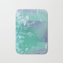 Big Wave - Japan Ocean Abstract Mint Bath Mat