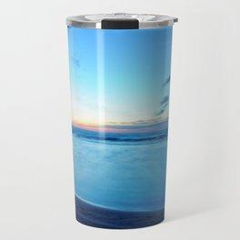 glass-like waters Travel Mug