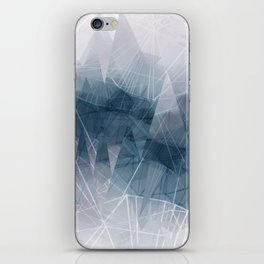 Ameythist Crystal Inspired Modern Abstract iPhone Skin