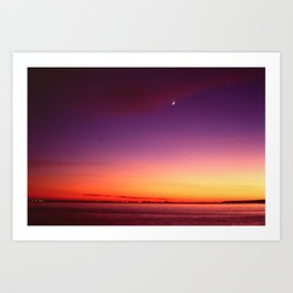 Duluth Sunset Art Print
