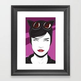 Nagel Style Cat Burglar Framed Art Print