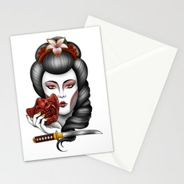 Geisha Girl Stationery Cards