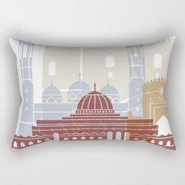 Muscat skyline poster Rectangular Pillow