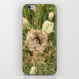 Ungewisse Blume iPhone Skin