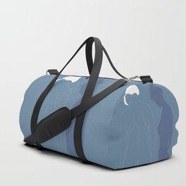 Minimal feminine figure Duffle Bag