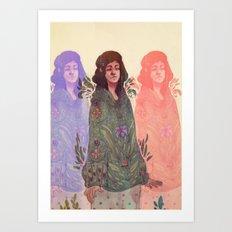 Distracted Identity Art Print