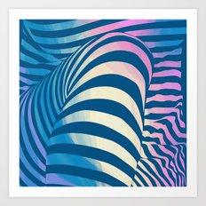 Shapes Of Things Art Print