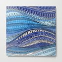 Blue Waves by fayemaguiredesigns