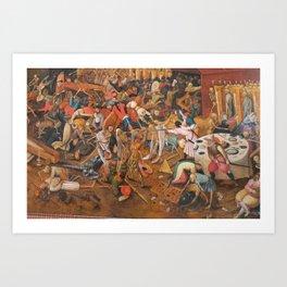 The triumph of Death Art Print