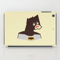 bat man iPad Cases featuring Bat Man by Ryder Doty