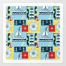 Come Sail Away (Centered) Art Print