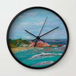 La Punta beach Mexico, Puerto Escondido Wall Clock