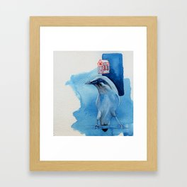 Bali Starling Framed Art Print