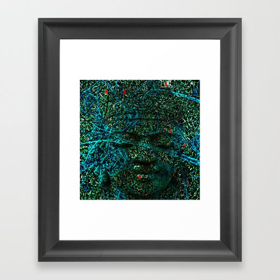 BOUDHA Framed Art Print