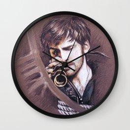 A Weather Eye Wall Clock