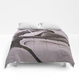 Black Heel Comforters