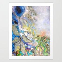 Garden Twilight Art Print