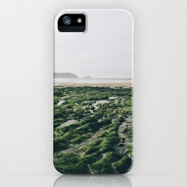 Exposed Reef at Fistral Beach iPhone Case
