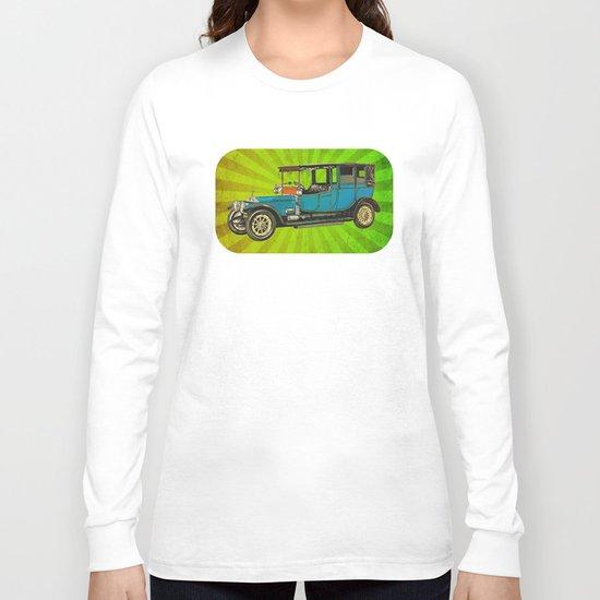 Vintage Car 02 Long Sleeve T-shirt