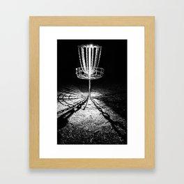 Disc Golf Chains Framed Art Print