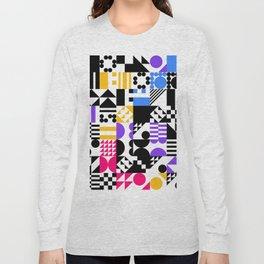 RAND PATTERNS #71: Procedural Art Long Sleeve T-shirt