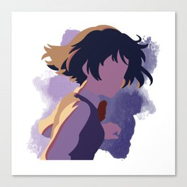 Your Name Minimalist (Mitsuha) Canvas Print