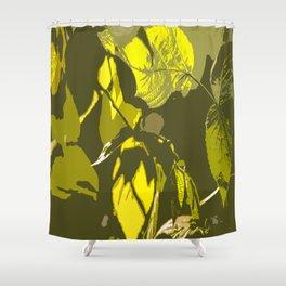 Autumn leaves bathing in sunlight #decor #society6 Shower Curtain