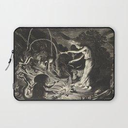 Witch - 17th Century Illustration Laptop Sleeve