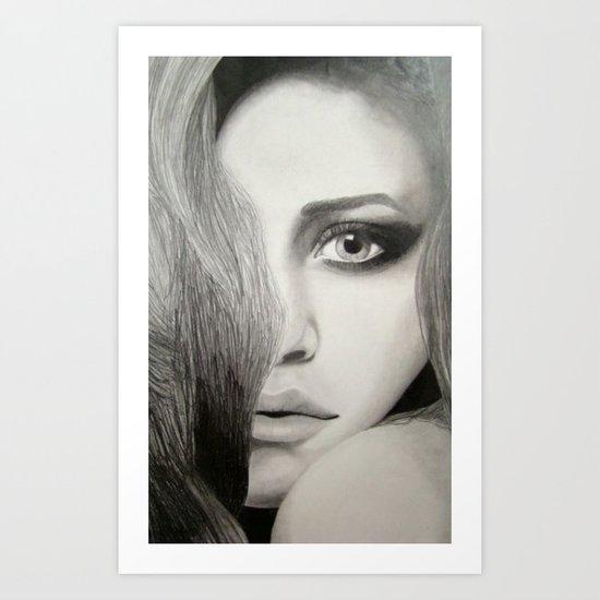 Mary-Kate Art Print
