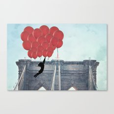 Floating over the Bridge Canvas Print